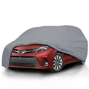 Ultimate HD 5 Layer Waterproof Semi Custom Fit Full Car Cover for 2007 Mazda 5