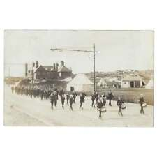 More details for boys brigade on early parade to camp possibly nr rothesay bute, rp postcard 1907