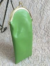 Kate Spade Reading Glasses Case Green Soft Pouch Summer Gift Travel