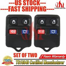 2x Remote Keyless Entry Replacement fit Ford Focus Ranger Mercury Key Fob USA