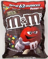 M&M's Plain 62 oz Bag Milk Chocolate Candy Bulk M & M Candies 3 lb 14 oz M & M's