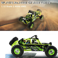 WLtoys No. 12428 1 / 12 2.4GHz 4WD Climbing RC Car High Speed with LED Light