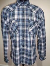 Mens Checked Shirt Small Jack and Jones Vintage graphic on back A39