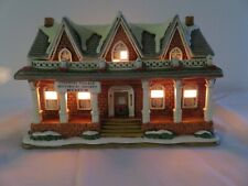 Lefton Colonial Village Historical Society Museum Lighted House Jane Chambless