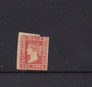 India 1854 One Anna unused