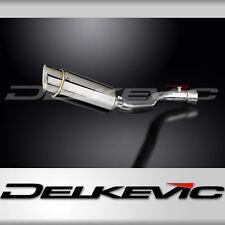 """Suzuki GSX-R1000 Mini 8"""" Stainless Steel Round Muffler Exhaust Slip On 07 08"""