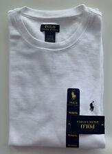 Polo Ralph Lauren Mens Ultra Soft Waffle Thermal Long Sleeve Shirt White XL