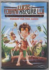 NEUF DVD LUCAS FOURMI MALGRE LUI SOUS BLISTER + BONUS DE 7 MINI DESSINS ANIMES