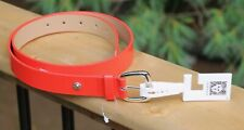 New Anne Klein Red Belt 1027036C Size M MSRP $32 With Tags +