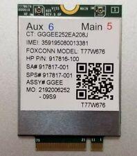 T77W676 917817-001 4G LTE WWAN M.2 Module for HP IT4120 Elite X2 1030 G3 El T7N6