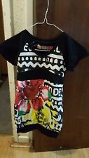 amazing offer desigual girls dress size 5-6 years