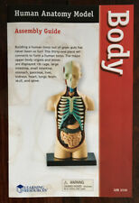 REPLACEMENT BOOKLET For Learning Resources Human Body Anatomy Model LER3336 NM