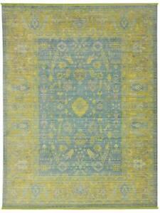 "Brooklyn Carpet Modern Area Rugs For Home Living Room Green (6' 7"" x 9' 7"" Feet)"