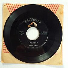 """TOMMY SANDS """"LOVE PAINS/DON'T DROP IT"""" 47-6868 7"""" 45 SINGLE COUNTRY BOPPER 1958"""