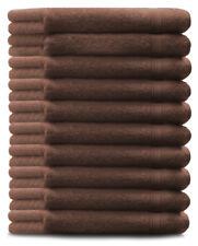 Betz Juego de 10 toallas de invitados GOLD 100% algodón de color nuez