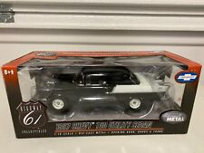 1/18 Highway 61 1957 Chevrolet 150 Black Widow Black And White Super Nice Detail