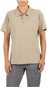 5.11 Tactical Women's Helios Short Sleeve Polo Shirt, Style 61305, Sizes S-XL