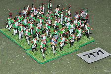 20mm napoleonic italian infantry plastic 36 figures (7979) painted