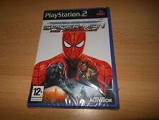 Hombre Araña Web Of Shadows-Playstation 2-PS2 Reino Unido PAL Nuevo Sellado De Fábrica