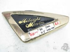 1983 Yamaha Maxim Midnight XJ750 Left Side Cover Frame Cover 33N-21710-00-6G