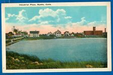 Industrial Place, Mystic, Connecticut - Early Postcard
