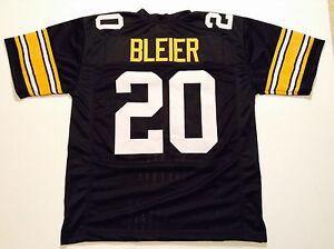 UNSIGNED CUSTOM Sewn Stitched Rocky Bleier Black Jersey - M, L, XL, 2XL, 3XL