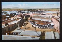 Benzaquen Unused Vintage Postcard - THE MARKET GIBRALTAR - VGC