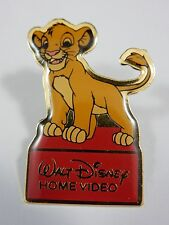 Walt Disney Lion King Simba Cub Standing on Red Home Video Logo RARE