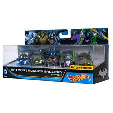 Hot Wheels DC Comics Batman & Rogues Gallery 5 Pack MR.FREEZE JOKER RIDDLER CROC