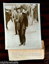 President Roosevelt's Ambassador NORMAN DAVIS in London UK 1933 Press Photo
