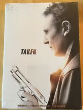 NEW & SEALED * Taken DVD Theatrical & Unrated Extended Cut Versions Liam Neeson