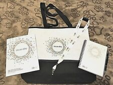 """2015 eBay """"We are eBay"""" Seller's Conference Tote Bag w/notebook, pen, lanyard"""