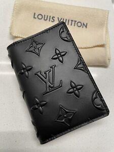 NWT AUTH LOUIS VUITTON Virgil Pocket Organizer Black Seal 2021 Luxury Wallet