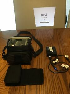Dell M109S DLP Projector w/ case and all cables works
