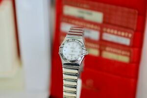 Omega Constellation My Choice 1566.76.00 Complete Set Ladies