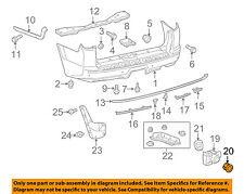TOYOTA OEM 4Runner Rear Bumper-Parking Aid Reverse Sensor Retainer 8934864030B2