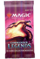 Magic the Gathering Commander Legends Single Collector Booster Pack- SEALED!!