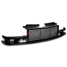 98-04 CHEVY GMT325/GMT330 TRUCK BLACK ABS FRONT BUMPER SKIRTS SPORT GRILL/GRILLE