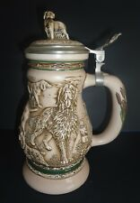Vintage Avon 1991 Great Dogs of the Outdoors Stein #16866 Hand Crafted