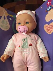 Cute Little Bundles Baby Sophia Soft Bodied New Crying Doll 2y + With Dummy