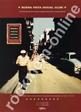 Buena Vista Social Club Ry Cooder LP Advert #2 CD