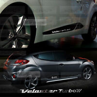 Chrome Point Door Line Guard Decal Sticker for HYUNDAI 2011-2017 Veloster Turbo
