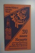 200 saure Rezepte~die 3 EEE~Elbs Essig Esenz~für die praktische Hausfrau Dresden
