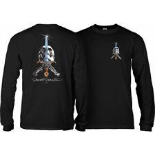 Powell-Peralta Skull & Sword Long Sleeve T Shirt Black Men's Large