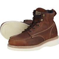 Gravel Gear 6in. Moc Toe Wedge Boot - Tan, Size 10