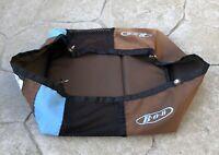 BOB Revolution Single Stroller Brown & Blue Basket -  Bag Lower Storage - Used