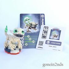 Skylanders Trap Team FUNNY BONE + CARD +STICKER SERIES 1 Comp with Superchargers