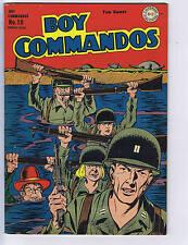 Boy Commandos #10 DC 1945 WW ll War cover