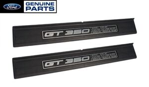 2015-2021 OEM Ford Mustang Shelby GT350 GT-350 Inside Door Sill Step Plates Pair