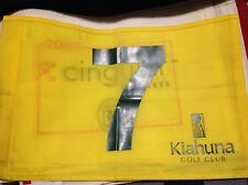 course used Kiahuna Golf Club in Hawaii pin flag by Robert Trent Jones pga usga